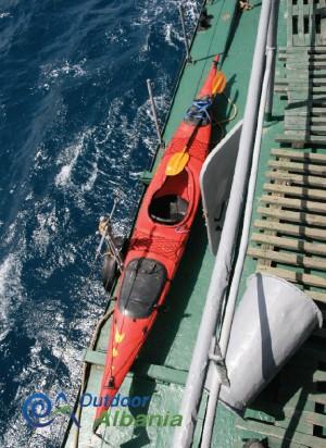 Kayaking Odisea in Karaburun Peninsula