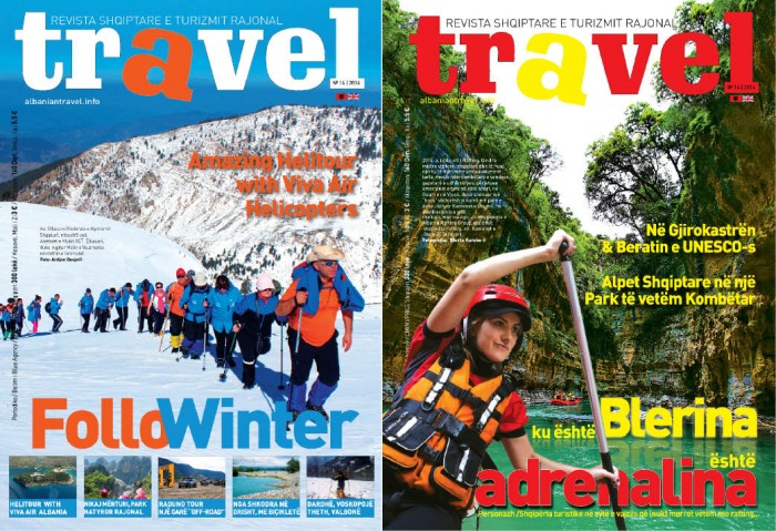 Në treg numri i ri i TRAVEL MAGAZINE - destinacionet më të mira dimërore në Shqipëri dhe rajon