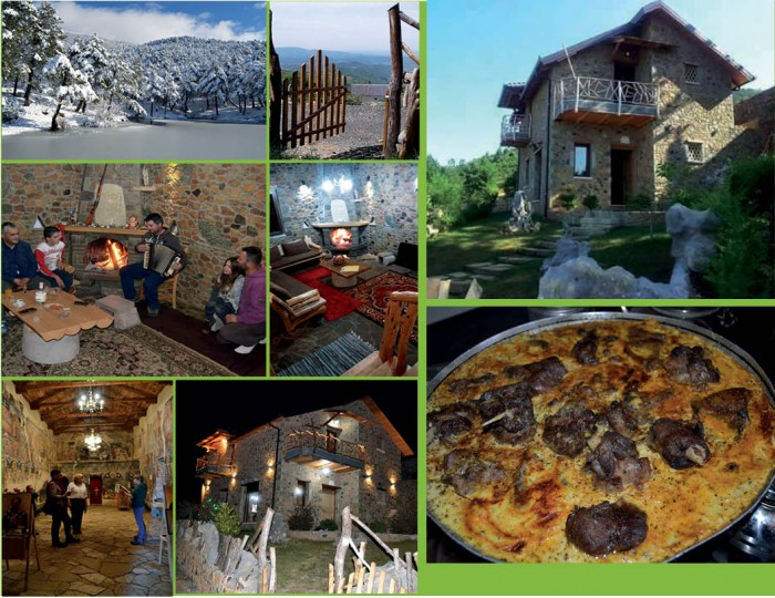 Mirëse vini në Gjinar,  tek Shtëpia e Traditës,  e mikpritjes dhe e vlerave