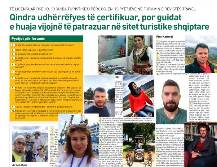Qindra udhërrëfyes të çertifikuar por guidat e huaja vazhdojnë të patrazuar të punojnë nëpër sitet turistike shqiptare